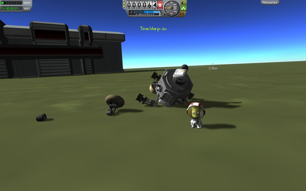 KSP – Space Station and Mun base